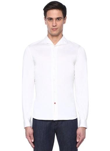 Isaia Gömlek Beyaz